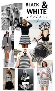 Black & White Mood Board