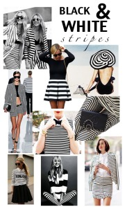 Black & White Mood Board