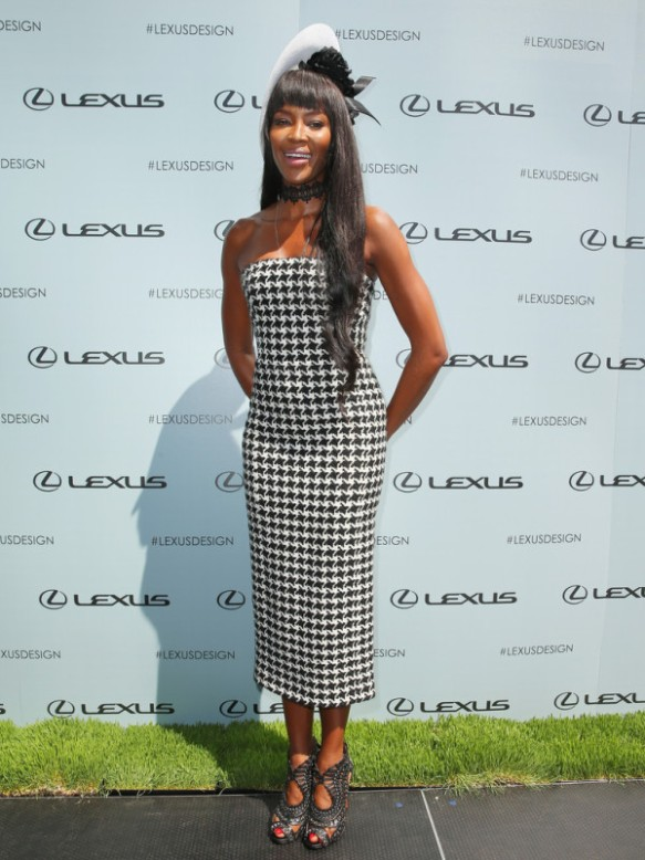 Derby Day: Naomi Campbell