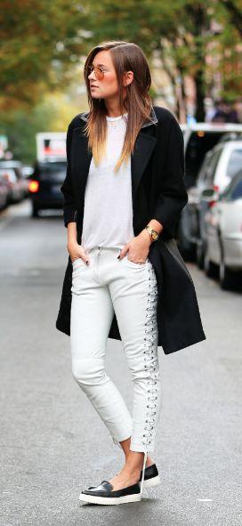 white +black