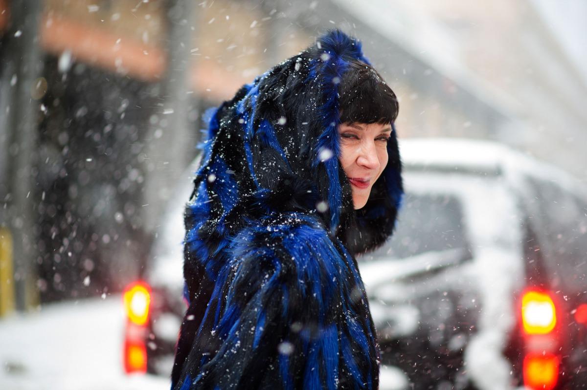 NYFW Street Style Trend: Feeling Blue